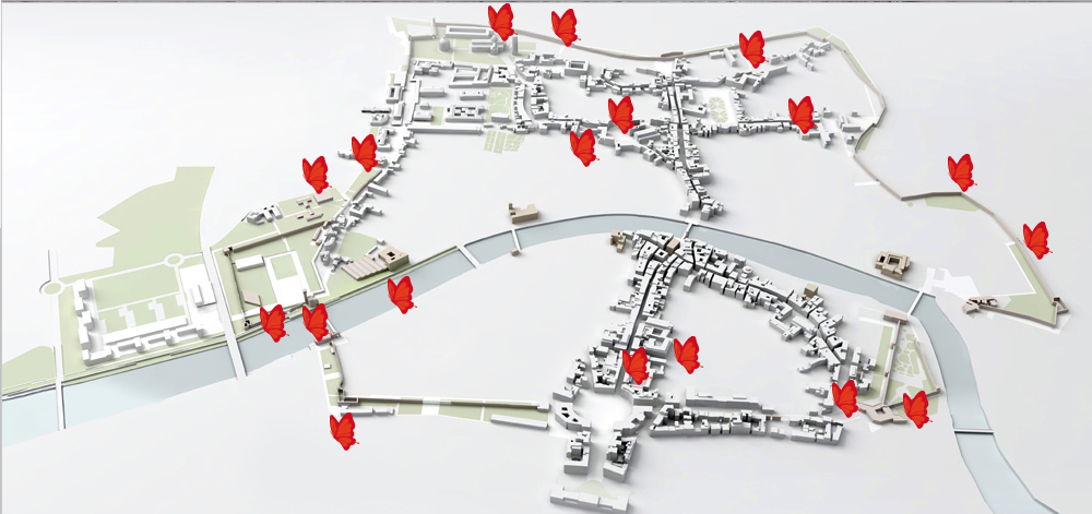mappa cantieri PIUSS
